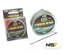 NGT Liquid Wire Leader 40lb 10m