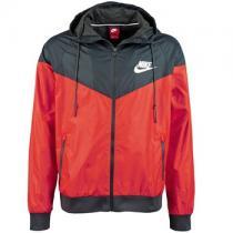 Nike WINDRUNNER Bunda červená