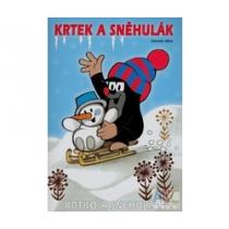 Krtek a sněhulák - omalovánky
