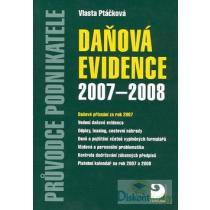 Daňová evidence 2007-2008