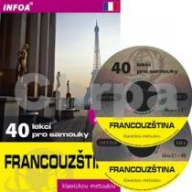 INFOA Francouzština - 40 lekcí pro samouky, kniha + 2 audio CD