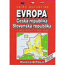 ČR - Evropa autoatlas
