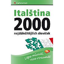 Italština – 2000 nejdůležitějších slovíček