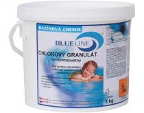 BlueLine Chlorový granulát rychlorozpustný 3 Kg