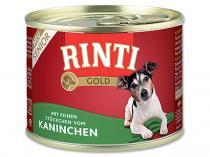 RINTI Gold senior králík 185g