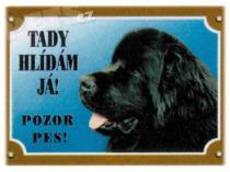 DAFIKO novofoundlandský pes černý Tabulka