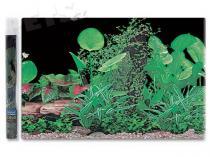 Aqua Excellent Pozadí tapeta ráj rostlin č.1 1500 x 30 cm 1,5m