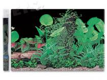 Aqua Excellent Pozadí tapeta ráj rostlin č.1 1500 x 50 cm 1,5m