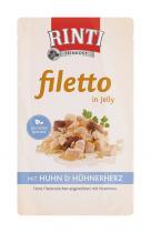 Rinti Filetto kuře & kuřecí srdce 125 g