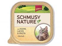 Schmusy Vanička Nature`s Menü kuře losos 100g