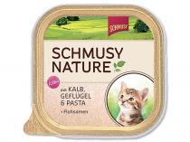 Schmusy Vanička Nature`s Menü junior telecí drůbež 100g