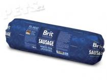 Brit Sausage with White Fish & Potatoes 800g