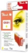 Peach CLI-551XL s čipem Žlutá kompatibilní