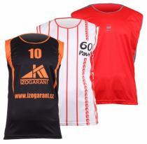 Merco basketbalový dres sublimovaný XL
