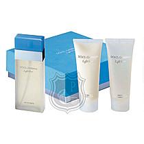 DOLCE & GABBANA Light Blue EdT 100ml + sprchový gel 100 ml + tělový krém 100 ml