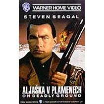 Aljaška v plamenech DVD (On Deadly Ground)