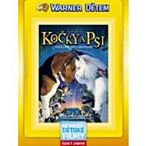 Jako kočky a psi (Warner dětem) DVD (Cats And Dogs)