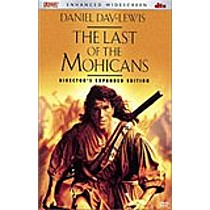 Poslední mohykán DVD (Last of the Mohicans)