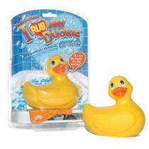 Big Teaze Toys Voděodolná masážní mini kachnička