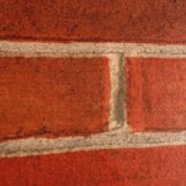 OTTOPAN Plastový obkladový panel vnitřní červená cihla
