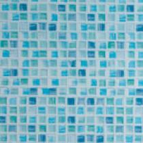 OTTOPAN Plastový obkladový panel vnitřní mozaika nebeská