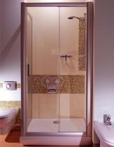 RAVAK NRDP2 Sprchové dveře dvoudílné