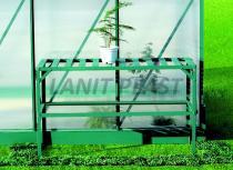 LANIT PLAST Regál Al dvoupolicový (126x50cm) LanitGarden