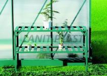 LANIT PLAST Regál Al jednopolicový (126x50cm) LanitGarden