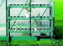 LANIT PLAST Regál Al třípolicový (126x50cm) LanitGarden