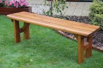 Zahradní nábytek Liška lavice bez opěrky FINLAND