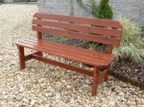 Zahradní nábytek Liška lavice ORB