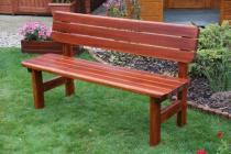 Zahradní nábytek Liška lavice ROVNÁ