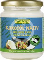 bio nebio Kokosový olej nerafinovaný RAPUNZEL 200g-BIO