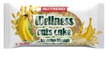 Nutrend Wellness oats cake banán 70 g