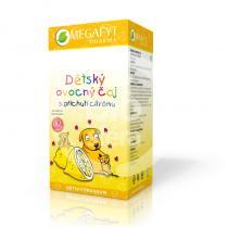 Megafyt Pharma Dětský ovocný s příchutí citrónu 20x2g