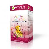 Megafyt Pharma Dětský ovocný s příchutí lesní jahody 20x2g