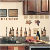 Víno - samolepky na zeď