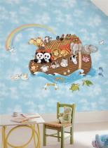 Noemova archa - samolepky na zeď