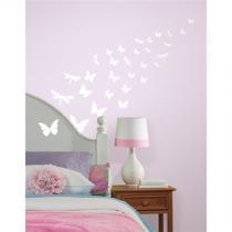 Svítící - Motýli - samolepky na zeď