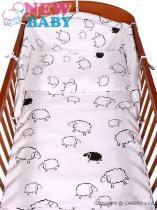 New Baby 3-dílné povlečení 90/120 cm ovečka