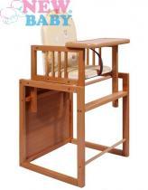 New Baby buková židlička Victory