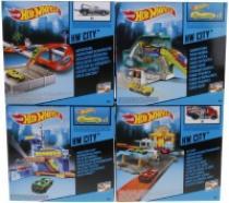 Mattel Hot Wheels set městem na kolech