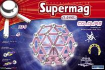 SUPERMAG - Classic Colours 124 dílků