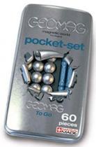 GEOMAG - Pro Metal pocket set 60 dílků v plechové krabičce
