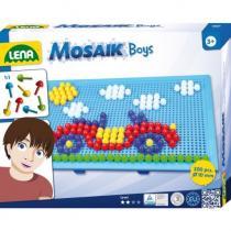 Lena Mozaika velká pro kluky 10 mm hladký