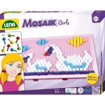 Lena Mozaika velká pro holky 10 mm hladký