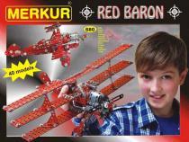 Merkur Stavebnice Red baron