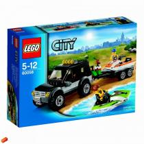 LEGO City 60058 - SUV s vodním skútrem