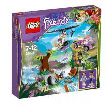 LEGO Friends 41036 - Záchrana na mostě v džungli