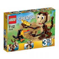 LEGO Creator 31019 - Zvířátka z džungle